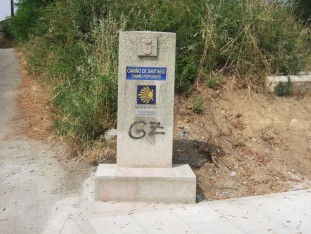 39 The first of the Galician waymarks