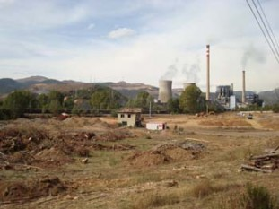 474 Very large thermoelectric plant on the outskirts of La Robla (La Union Fenosa)